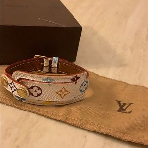 Louis Vuitton bracelet with colorful patterns